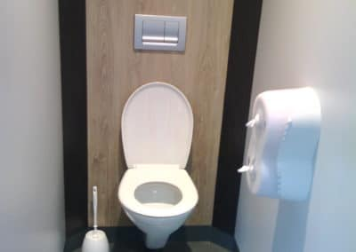 Cabines sanitaires polycompact WC