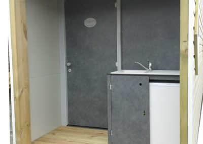Exemple d'un bloc sanitaire individuel KVI