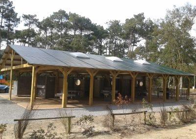 bloc sanitaire spécifique camping