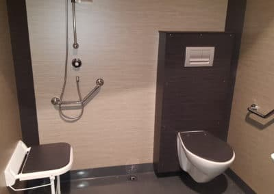cabines sanitaires polycompact Kit Vulcain