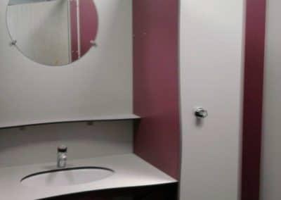 aménagement cabines sanitaires