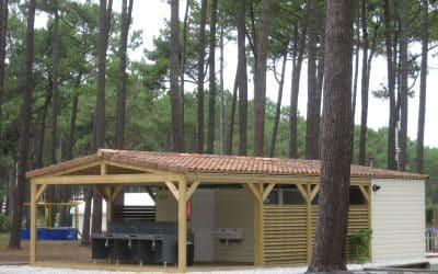 2 Blocs Sanitaires pour camping dans les Landes (40)