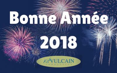 Nous vous souhaitons une très bonne année 2018 !