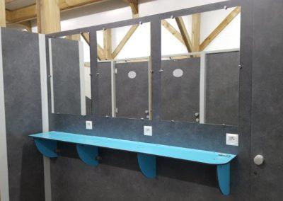bloc sanitaire KVI en cours