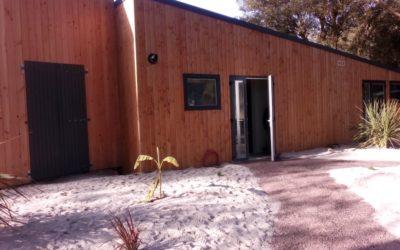 Réalisation d'un bloc sanitaire pour un camping de Charente Maritime