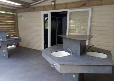 bloc sanitaire pour camping dans les landes