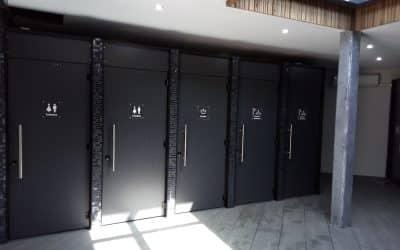 Rénovation avec cabines polycompacts standing dans le sud ouest