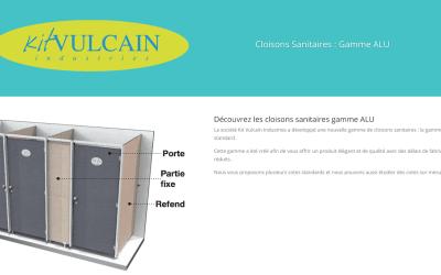 Nouveauté dans les gammes de cloisons sanitaires de Kit Vulcain
