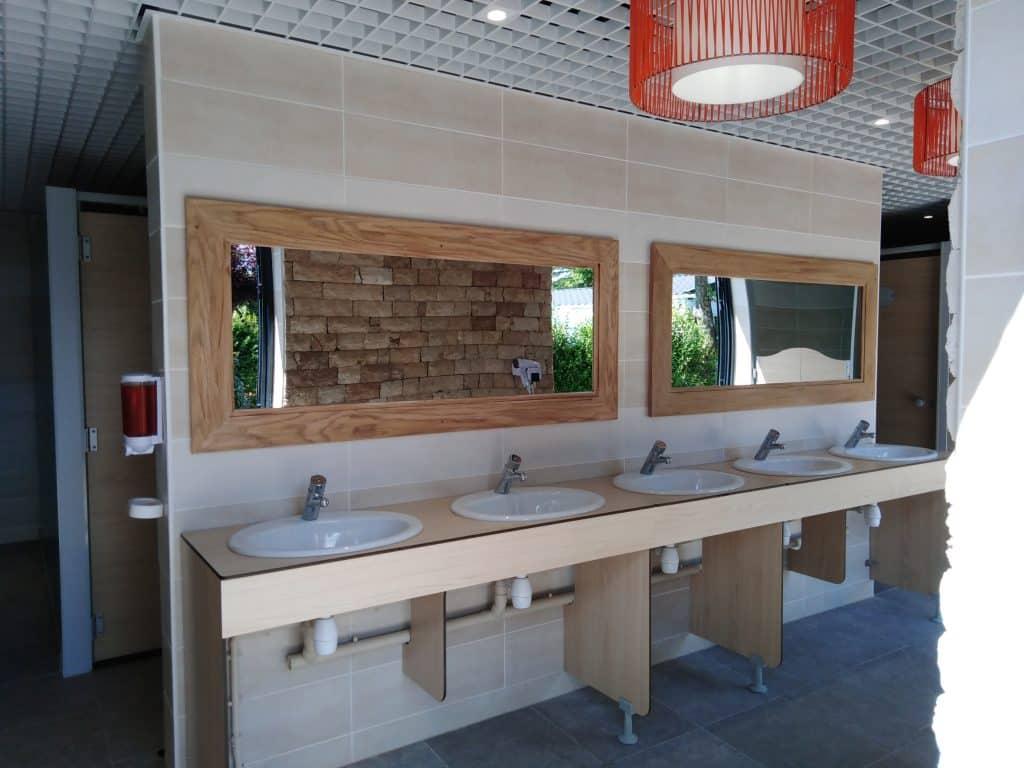 plan vasque lavabo dans blocs sanitaires kit vulcain industries