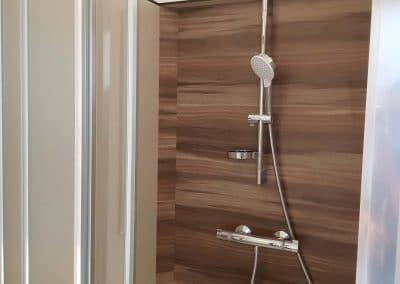 cabine de douche autoportée KVI