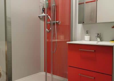 Rénovation salle de bains cabien douche KVI