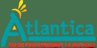 logo atlantica salon de l'hotellerie de plein air